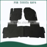 Hot Sale Full Set Position Easy Clean 3D Rubber PVC Rubber Car Floor Mats For TOYOTA RAV