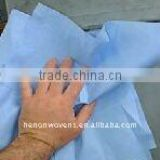 Industrial Cleaning Wipe, Woodpulp Nonwoven Wipes; Machine Cleaning cloth, Spunlace Nonwovens