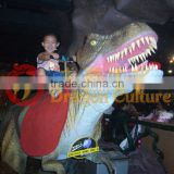 Jungle Restaurant Animatronic Dinosaurs for Riding