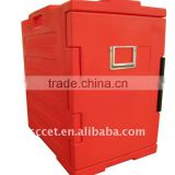 Front Loading Plastic Insulated Food Container