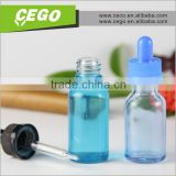 customized label comestic essential oil clear glass dropper bottle with gift box