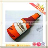 Beer Bottle Shaped 4GB Capacity PVC Plastic USB 2.0 Flash Drives, Ships from US