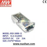 Meanwell 300W Railway Single Output DC-DC Converter Switching Power Supply/12v dc-dc converter
