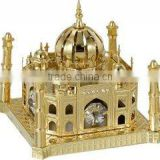 24K Vintage Gold Plated Swaravski Crystals Promotional Gifts ~ Taj Mahal ~ Corporate Gift Sets ~ Unique Gift~ Novelty Gifts