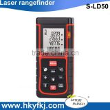 distance area volume measuring instrument digital laser distance meter golf laser rangefinder