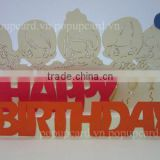 Babies Happy birthday 3d pop up card