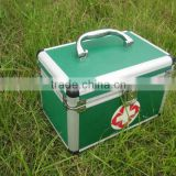 MK-FK16 Wholesale Medical Waterproof First aid Kit Bag with Accessories Aluminum First Aid Box Emergency First Aid Kit