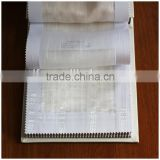 New design 100% polyester fire retardant sheer window fabric XJSY 0239