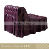 AS10-09 Leather Single Sofa In Living Room Furniture Design Classic Furniture-JLC Luxury Home Furniture