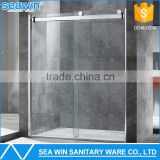 Luxury bathroom design OEM custom frameless sliding glass used shower door price                                                                         Quality Choice                                                                     Supplier's Choi