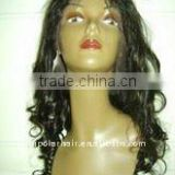 Wholesale glueless lace wig body wave 100% human hair brazilian hair full lace wig with baby hair / Lace front wig