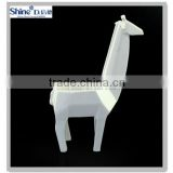 white ceramic giraffe tealight candle hodler animal candle pot home