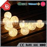 TZFEITIAN China supplier factory price 10LED warm white cotton ball led decorative string light