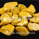 new product natural yellow clay crystal stone