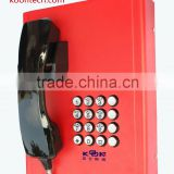 fire fighting equipment KNZD-27 Analogue system speed dial buttons emergency telephone Public phone