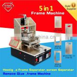 5 In 1 Multifunction samsung Bezel Middle Frame Separate Machine +Built-in Vacuum Lcd Screen Separator +Glue Remover +Hot Plate