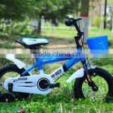 blue colour bset -seller children/kids bicycles/bikes 12inch with training wheels