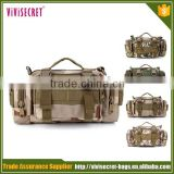 Factory price stock mix camo colors waist camera 3P military tactical bag