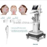2015 ALIBABA EUROPE!!! HIFU Machine HIFU High Intensity Multi-polar RF Focused Ultrasound HIFU Face Lift For Salon Beauty Equipment Forehead Wrinkle Removal