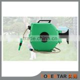 TYW01-15 Garden Hose Reel Wall-Mounted Hose Box, 15-Meter (50-Foot), Automatic Roll-up water hose reel