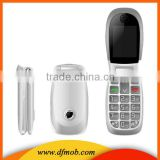 Low Cost 2.2INCH QVGA MTK6260 Big Keyboard GPRS/WAP Quad Band Unlocked GSM Flip Phone T03