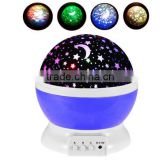LED Mini Sky Projector Color Changing Rotation Projection Starry Star lava Lamp USB/Battery Home Decor Baby Kids Nightlight Gift