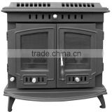 camping stove, wood burning fireplace, multi fuel, wood or coal, classical cast ironstove