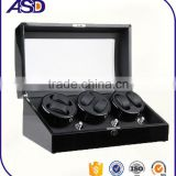 High Quality Wooden automatic 4+7 watch winders with compartments for 11 watches