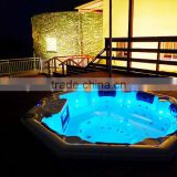 Freestanding sex massage hot tub with sex video cheap whirlpool Bathtub used for 8 Persons