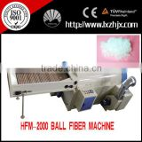 HFM-2000 New Popular Polyester Staple Fiber Pearl Fiber Machine with CE Approved