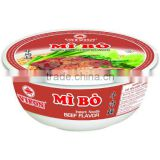 Beef Flavor Instant Noodle In Bowl FMCG products
