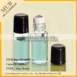 Inquiry about 12ml clear glass roll on deodorant bottles with stainless steel roller ball and black screw cap