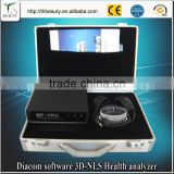2017 Body composition analyze 3D nls medical analysis equipment 3D body health tester