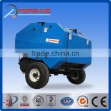 FXM hot sale factory made CE certified quality farm machinery mini round hay baler for hay grass straw silage alfalfa