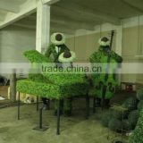 Artificial Topiary Wire Frames Animal Garden Landscaping Decoration Big Artificial Animal Topiary