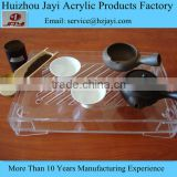 High quality clear acrylic tea tray/service tray