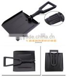 Folding Snow Shovel, car used, Plastic PP head, easily foldable, high quality, competive price