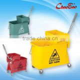 20L Portable-type Single Mop Wringer Trolley