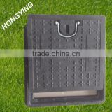 500x500 square manhole cover with handle