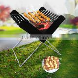 2017 latest grill outdoor stainless steel grill folding barbecue grill