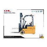 Storage Yard three wheel Electric industrial Forklift Truck in Narrow Aisle Lift Truck CE