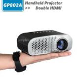 GP802A, simplebeamer double HDMI with TV tuner, new mini led projector, Micro Portable game Projector for private theater