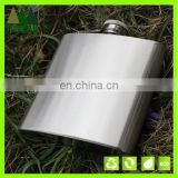 6oz Stainless Steel Hip Flask Alcohol Wine Pot Flagon Outdoor Travel drink wine bottle Hip Flask