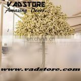 white customerized artificial cherry blossom tree outdoor indoor ficus tree wedding event decor