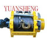 hydraulic fishing winch