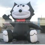 Inflatable Cat Shape for Advertising