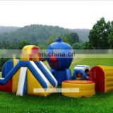 2015 low price kids obstacle course equipment with free EN14960 certificate