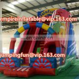 OEM design medium sized inflatable cartoon slide for children ID-SLM047