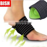 Orthopedic foot cushions,cushioned plantar fasciitis foot arch supports, adjustable arch support#JZ0001