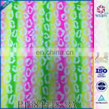 New Design Poly&spandex Resistant Clock Print Fabric